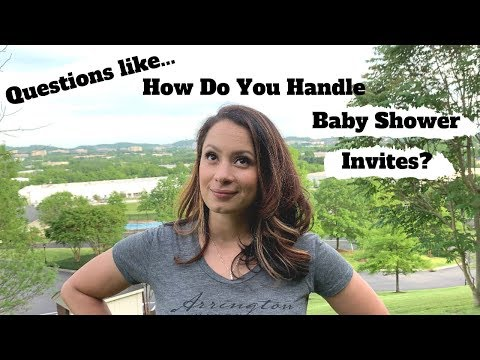 10 Fun Facts About Me | How I Handle Baby Shower Invites