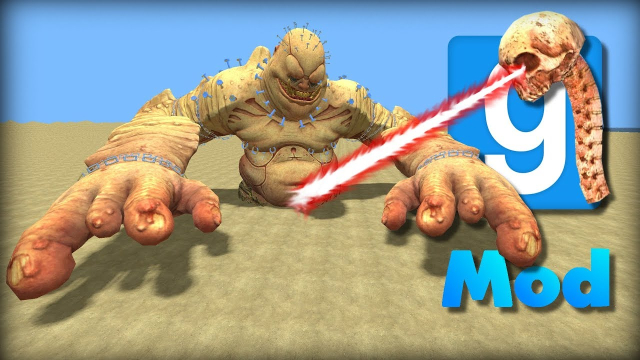 Garry's Mod | DEATH WAND VS GIANT MONSTERS | Will It Survive