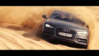 Dune Drifting in Dubai with the The Audi A7 Sportback