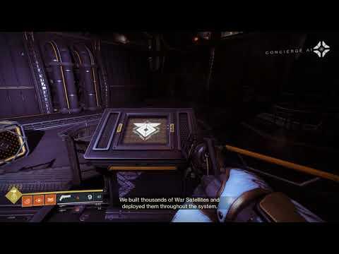 Clovis Bray Concierge AI on Warsats - Destiny 2