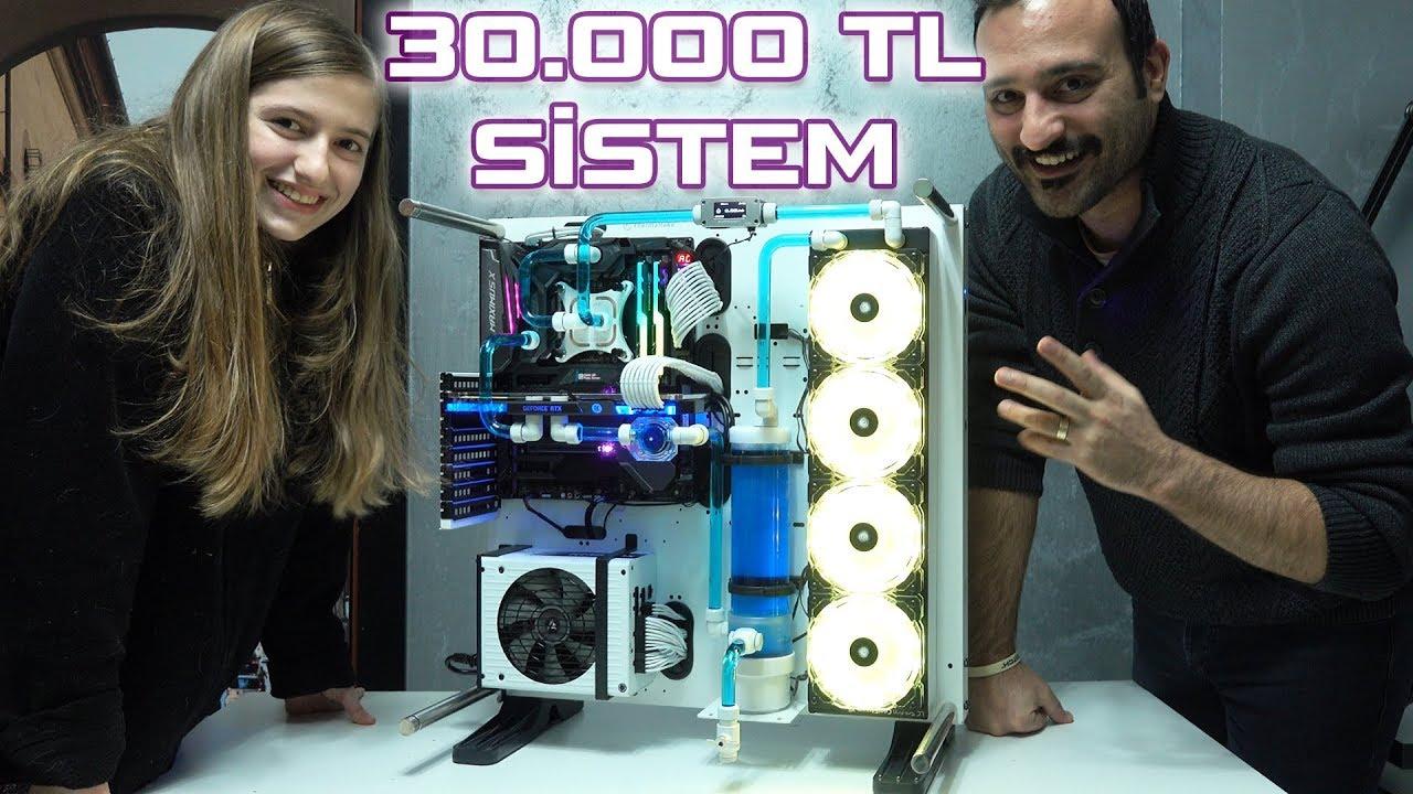30.000TL! Özel Sıvı Soğutmalı RTX 2080 Ti Sistem Topluyoruz