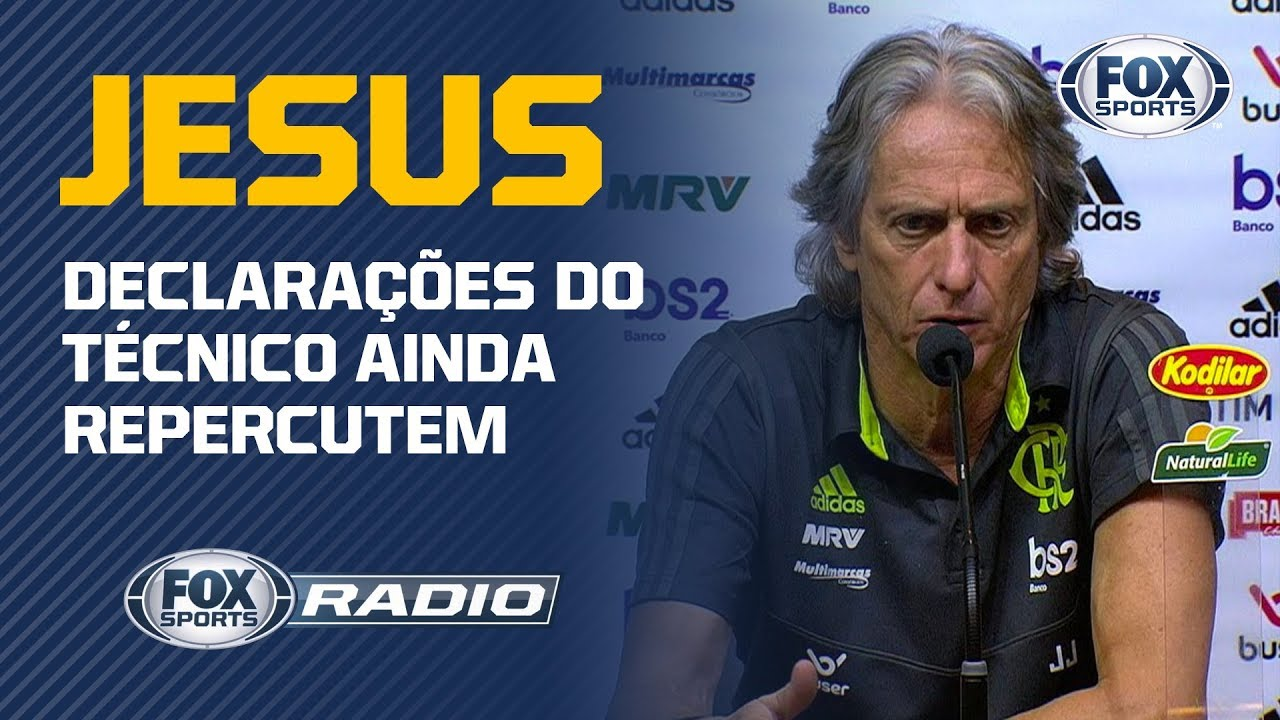 JORGE JESUS FOI ARROGANTE? Atitude do treinador gera discussão no FOX Sports Rádio