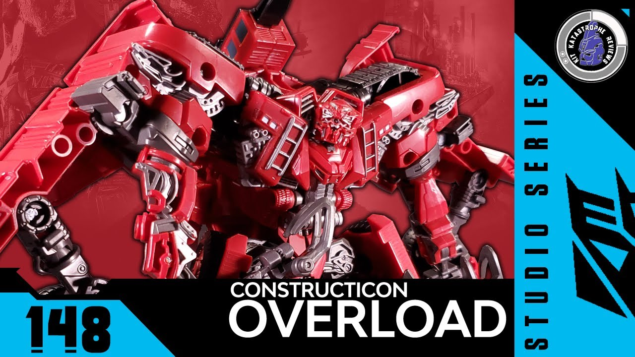 Transformers: Studio Series OVERLOAD Review By Kit Katastrophe