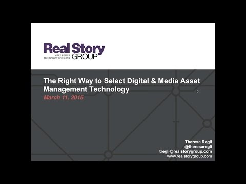 Webinar: The Right Way to Select Digital & Media Asset Management Technology
