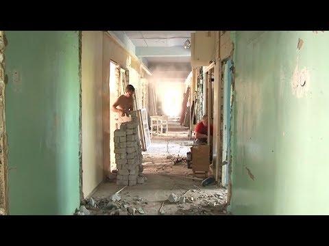 В детской поликлинике в Шарье начался масштабный ремонт