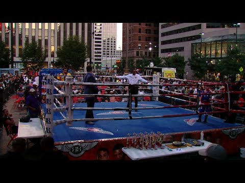 Punching for Peace brings boxing to Fountain Square