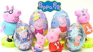 PRINCESS PEPPA PIG Chocolate Surprise Toy Eggs Huevos Sorpresa Peppapig Egg Surprises