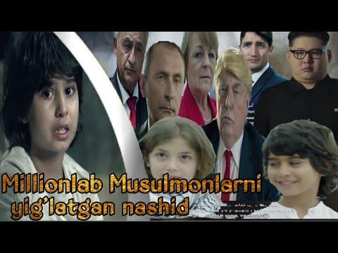 Millionlab musulmonlarni yig'latgan nashed