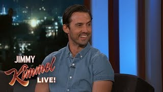 Milo Ventimiglia Orders Food Way Too Much