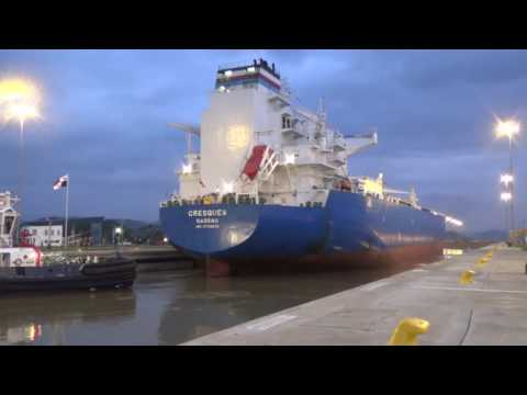 Transits Through Expanded Panama Canal (October)