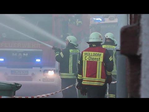 [Scheunenbrand] Großeinsatz für die Feuerwehr Sankt Augustin