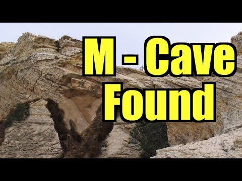 """The """"M-Cave"""" Found by Kenny Veach"""