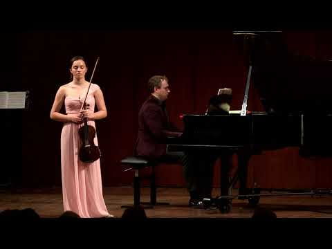 Arielle Silverberg in Recital 2017; Mazzoleni Hall, The Royal Conservatory, Toronto