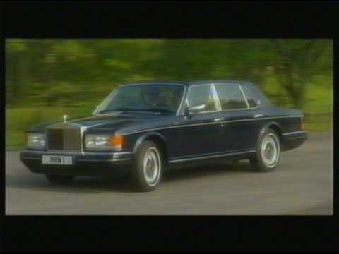 1996 Rolls Royce model year official promotional video - Classic!