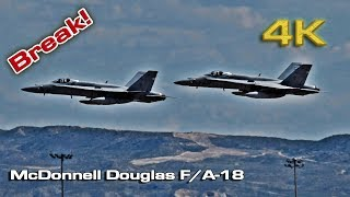 McDonnell Douglas F/A-18 Break!