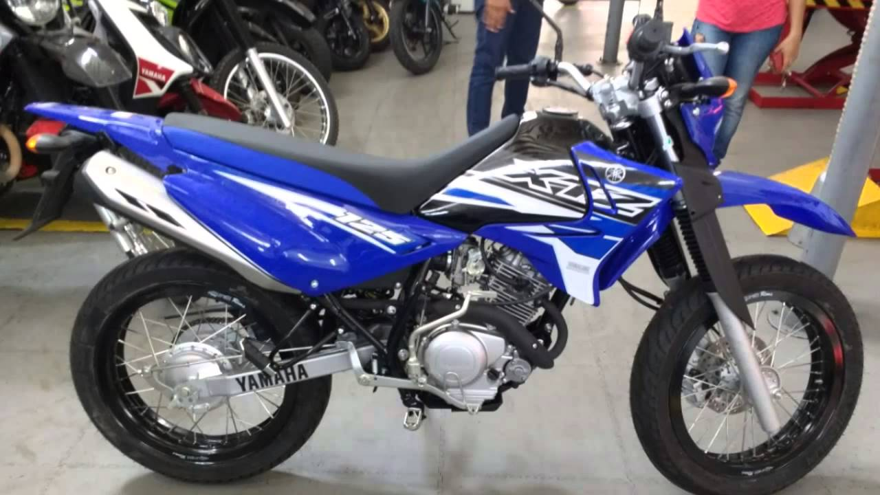 Xtz 125 2016 personalizada negra y azul youtube for Yamaha xtz 125