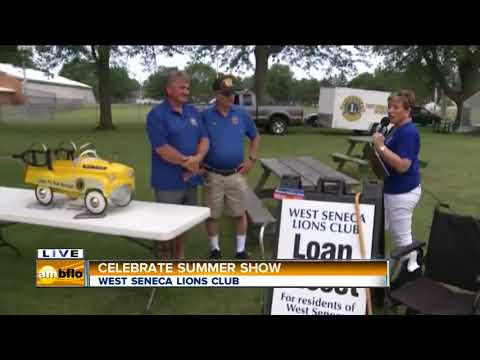 AM Buffalo On The Road In West Seneca   Part 4 Terry Buchwald and Lions Club
