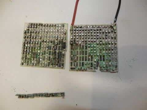 Inside a Peltier Thermoelectric Heat Pump + Tear Down