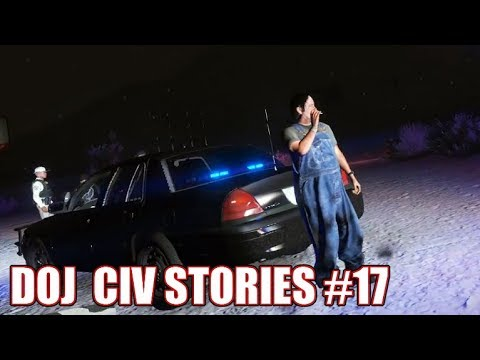 GTA5 RP | DOJ Civ Stories #17 - George's Ride Along