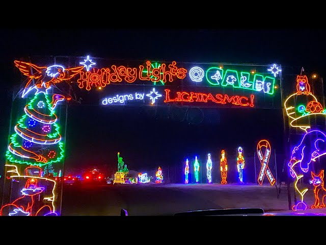 Where To See Christmas Lights Near. Bakersfield Ca 2021 Unreal Christmas Light Display At Holiday Lights At Calm In Bakersfield Ca Serious Wow Factor Youtube