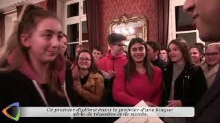 Remise des diplômes au collège Maurice-Clavel d'Avallon.