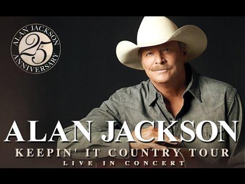 Alan Jackson 25th Anniversary Tour - May 9, 2015 - U.S. Cellular Coliseum