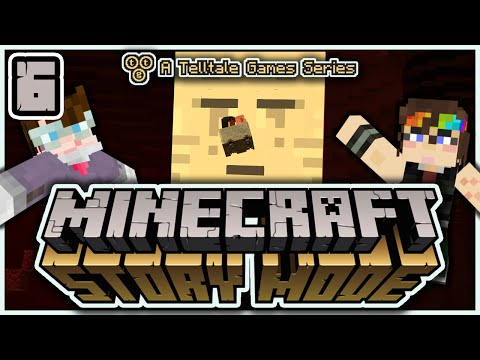 Minecraft: Story Mode (E1#6) - It's Now Or Nether