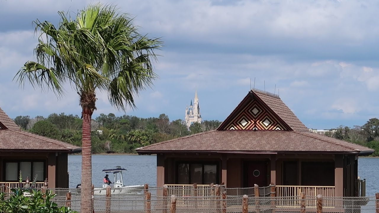 Walt Disney World Polynesian Village Resort Tour Hotel