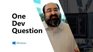 What was your work environment when you started at Microsoft? | One Dev Question
