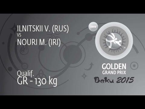 Qual. GR - 130 Kg: V. ILNITSKII (RUS) Df. M. NOURI (IRI), 5-2