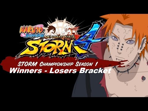 Storm Championship: Season 1 - Winners-Losers Bracket  | Naruto Storm 4 Tournament