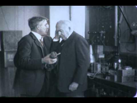 Thomas Edison in Schenectady - 1922