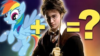 MASHUP: Harry Potter + My Little Pony | Rainbow Dash, Hermione, Rarity, Luna Lovegood & More