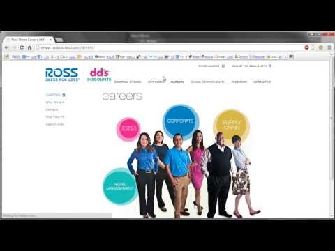 Ross Application Online Video