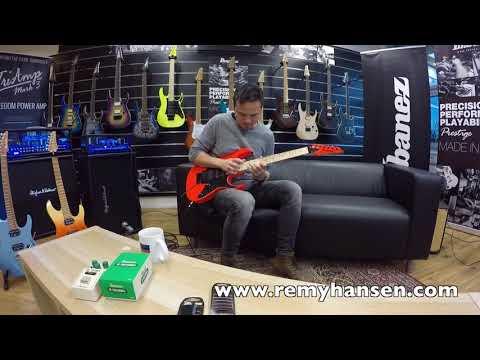 Tapdancer on 2018 RG550 Sample guitar