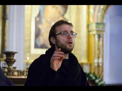Хор семинарии. Богослужение на Трех Святителей