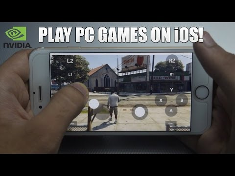 How To Play PC Games On  IOS - IPhone, IPad & IPod ! Play GTA 5 (Moonlight  Game Streaming)