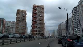 . Некрасовка-МКАД_Север. Поездка на автомобиле. 12 октября 2019 г.
