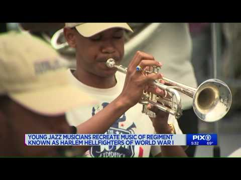Young jazz musicians recreate music of Harlem Hellfighters