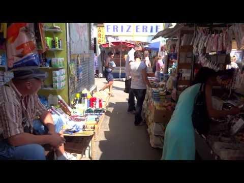 Walking in Chişinău, Moldova market