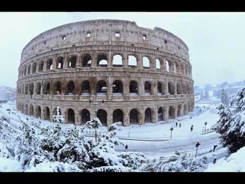 Snow in Rome, Rome snow,  snowfall in Italy, Vatican City sow, snowy Rome, Saint Peters Square