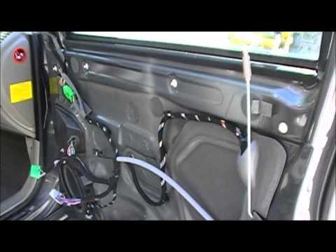 How to Remove your Volvo XC90 door panel - YouTube