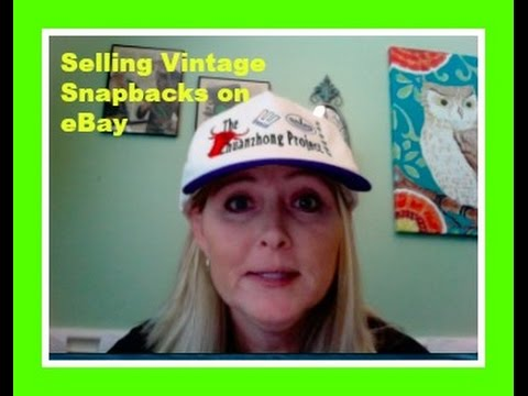 Selling Vintage Snapback Hats on eBay - YouTube d96129cfbff