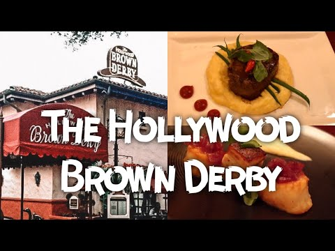 The Hollywood Brown Derby Review | Round Table Disney Dining Show