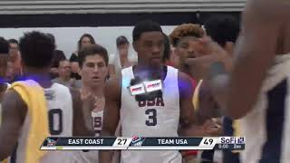 Creighton Highlights in Pan American Games Exhibition Victory