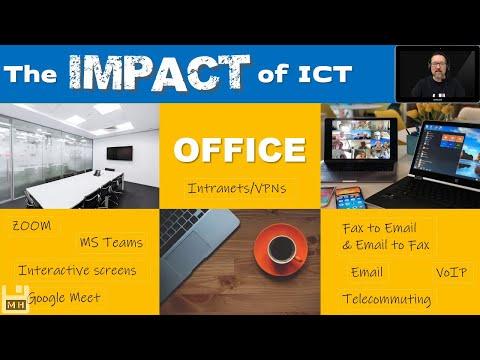 Level 1 Impact on Society Lesson 4: Impact of ICT