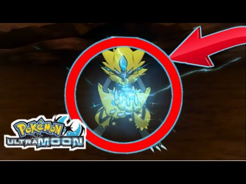 Mythical Pokmon Zeraora Gameplay Ultra Sun Ultra Moon Youtube
