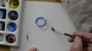 A Beginner's Guide to Painting Water Drops in Watercolor