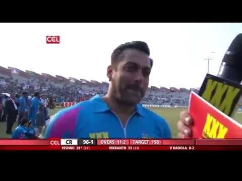 CCL 5 Chennai Rhinos Vs Mumbai Heroes 2nd Innings Part 3/3