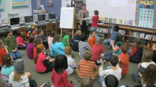 Martha Visits Park Forest Elementary Library